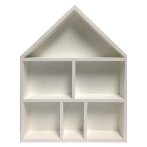 House Cubby Wall Shelf, White - Pillowfort™ - image 1 of 3