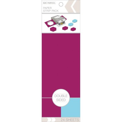 K&Company 24pg Double Sided Paper Strip
