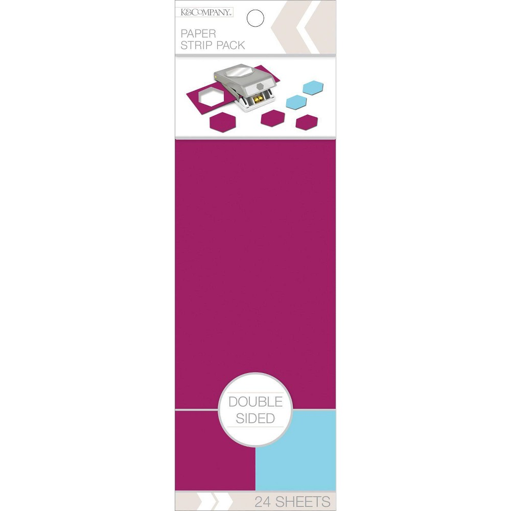 Image of K&Company 24pg Double Sided Paper Strip