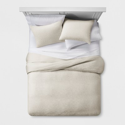 Neutral Micro Texture Duvet Cover Set (King)- Project 62™ + Nate Berkus™