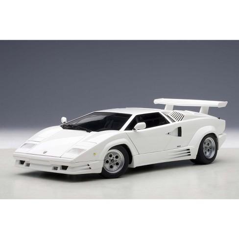 Lamborghini Countach 25th Anniversary Edition White 1 18 Diecast