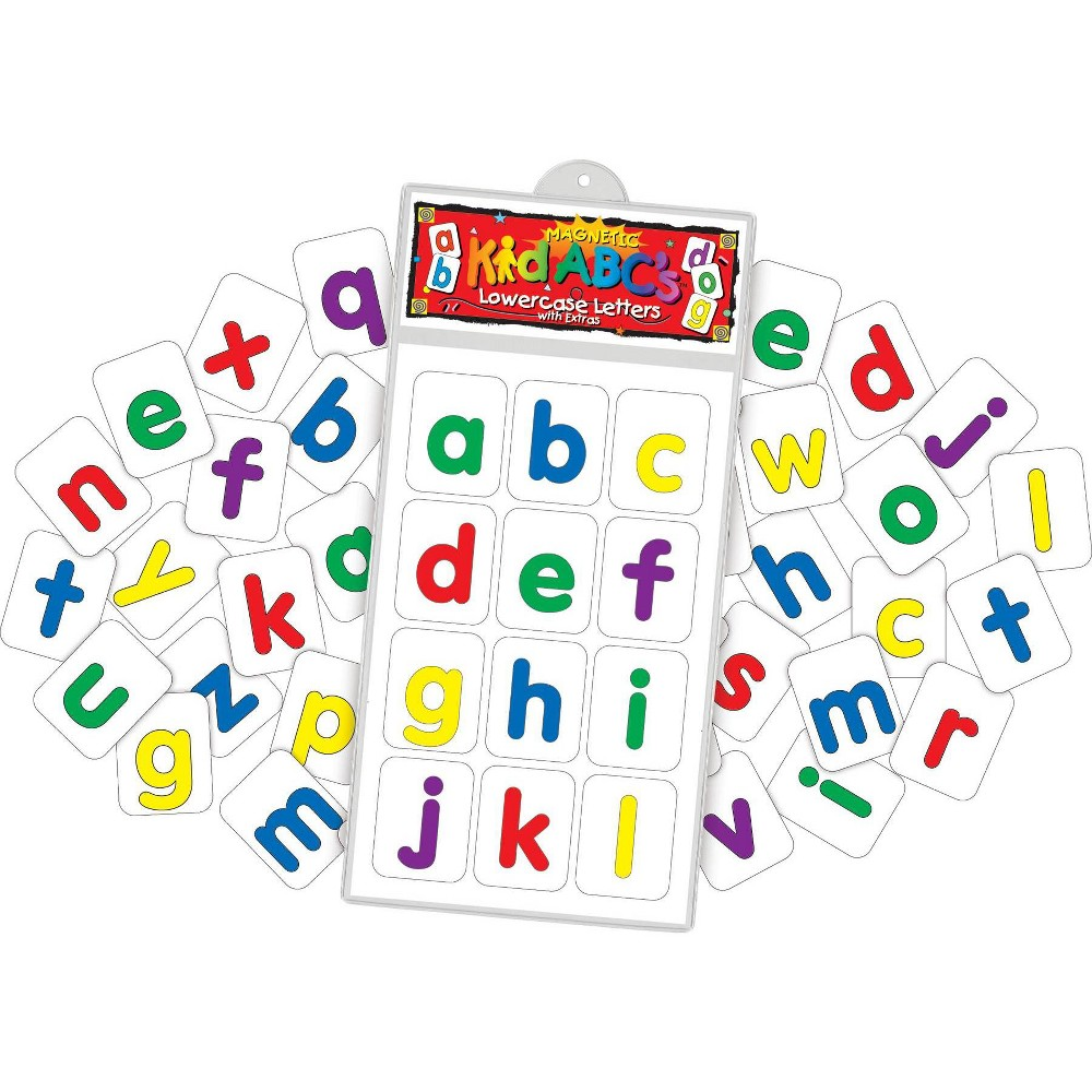 Image of Barker Creek 137pc Learning Magnets Now I Know My Abcs Kit