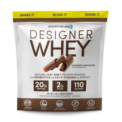 Designer Whey Gourmet Chocolate - 64oz