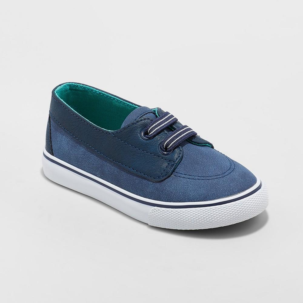 Toddler Boys' Kaiser Sneakers - Cat & Jack Navy 12, Blue