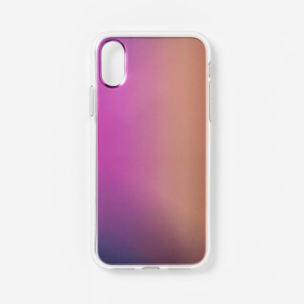 heyday Apple iPhone X/XS Case - Pink Metallic Ombre