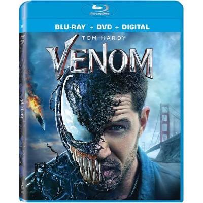 Venom (2018)(Blu-Ray + DVD + Digital)
