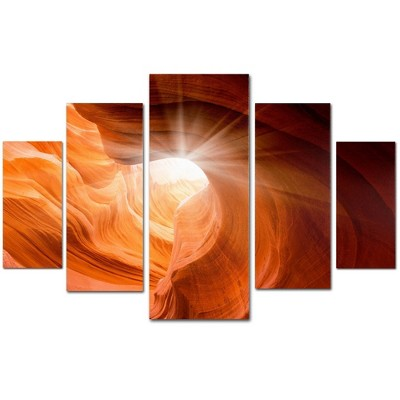 5pc Smooth II by Moises Levy - Trademark Fine Art