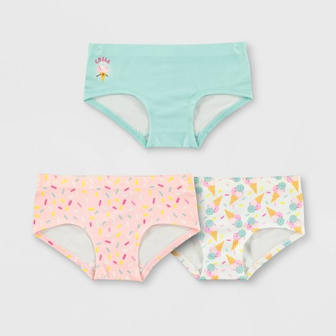 5dbcef007630 Girls' Mush Ice Cream 3pk Seamless Hipster Briefs : Target