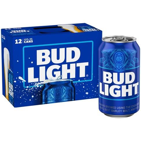 Bud Light Beer - 12pk/12 fl oz Cans - image 1 of 4
