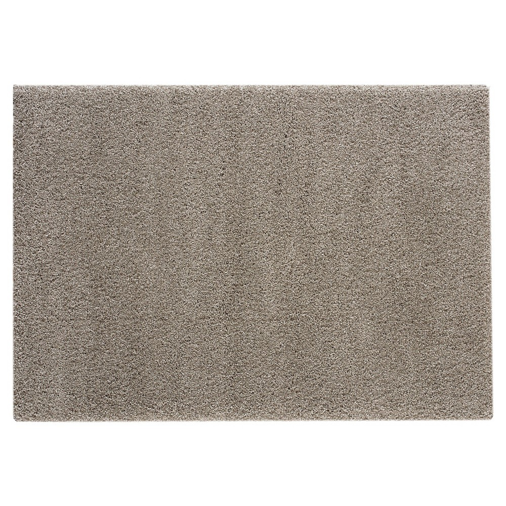 Image of 8'X10' Solid Area Rug Heather Gray - Balta Rugs, Gray Off-White