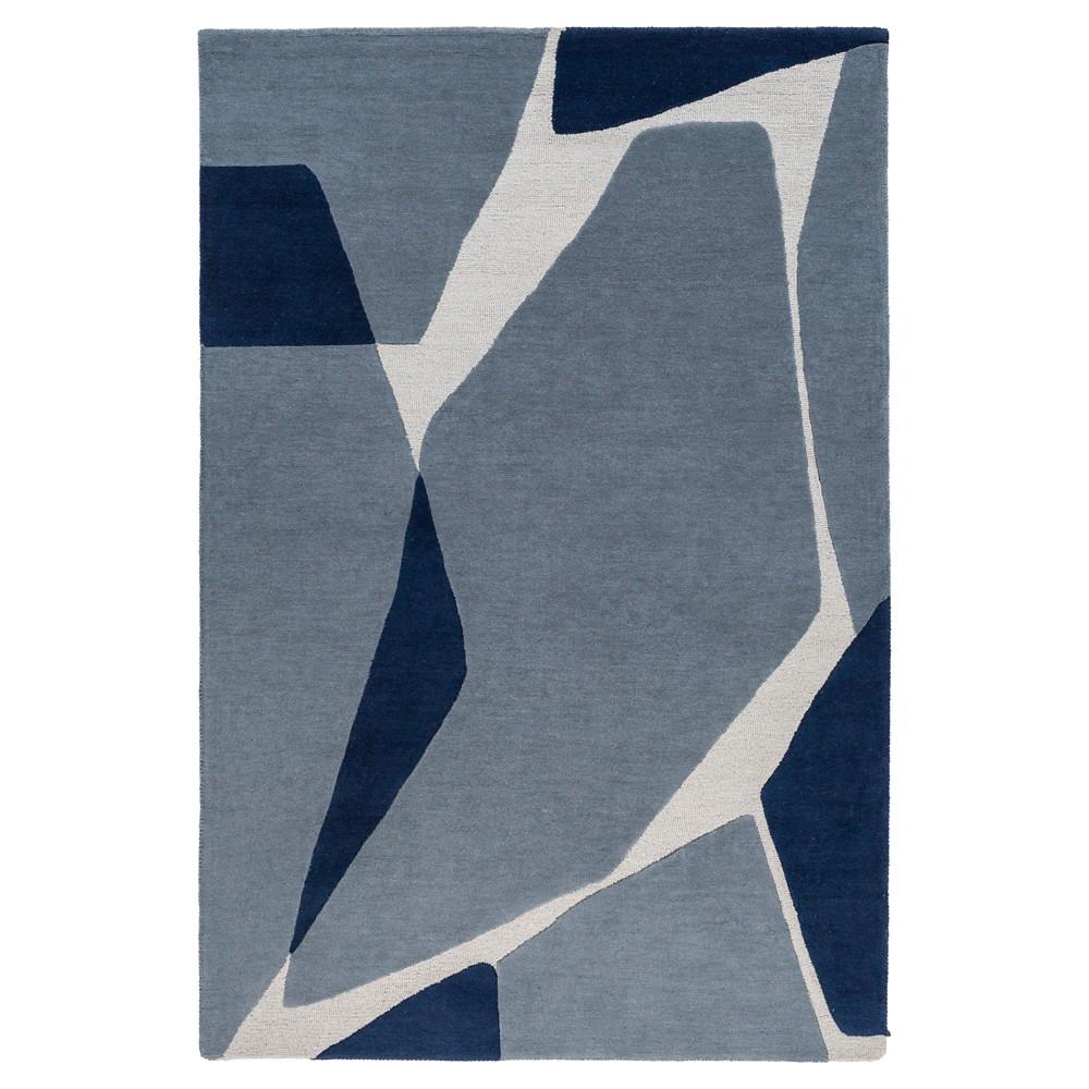 Lucrecia Kid's Rug 4'x6' Dark Blue - Surya
