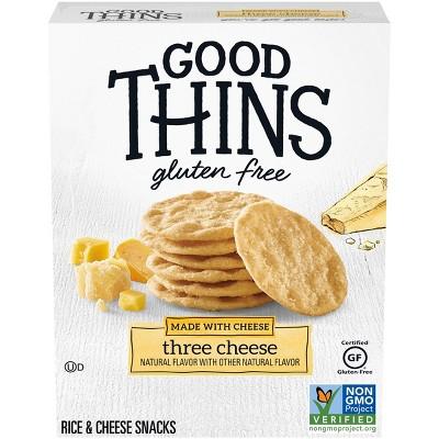 Good Thins Three Cheese Potato Chips - 3.5oz