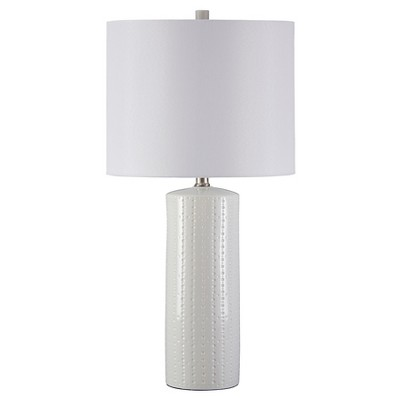 Steuben Table Lamp (Set of 2)White (Lamp Only)- Signature Design by Ashley