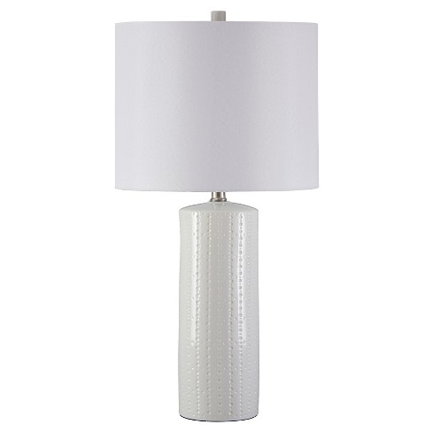 Steuben Table Lamp Set Of 2 White Lamp Only Signature Design