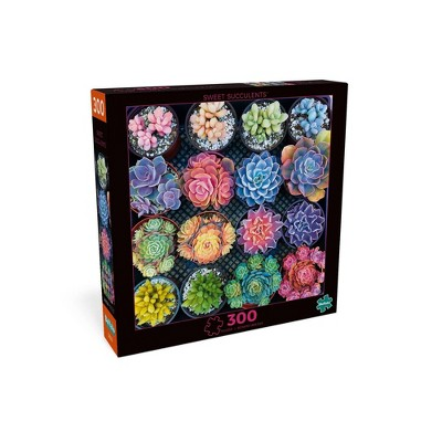 Buffalo Games Photography: Sweet Succulents Jigsaw Puzzle - 300pc