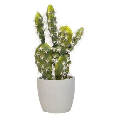 Artificial Cacti Arrangement in Cement Pot Green 17  - Lloyd & Hannah