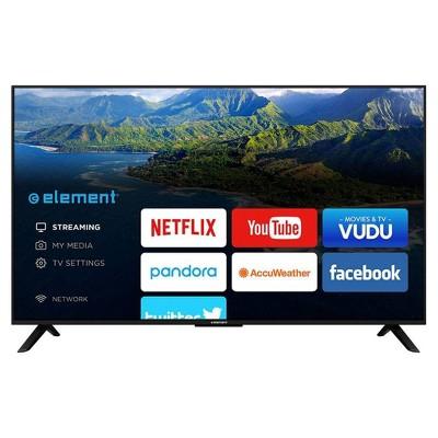 """Element 50"""" Smart 1080p 60Hz LED HDTV - Black (ELST5016S)"""