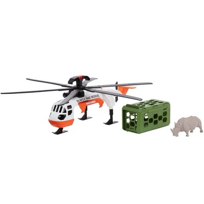 Matchbox Rescue Adventure Rhino Rescue Helicopter