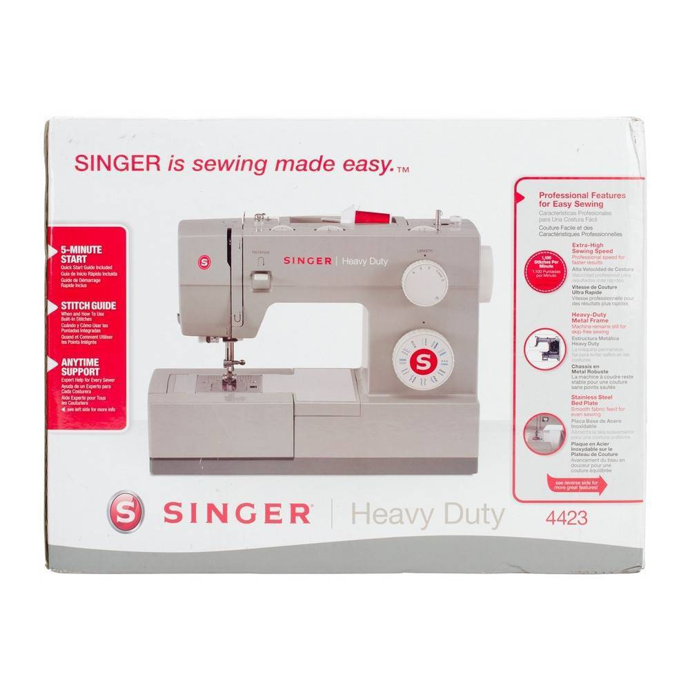 Singer Heavy Duty Sewing Machine - Gray Singer Heavy Duty Sewing Machine - Gray