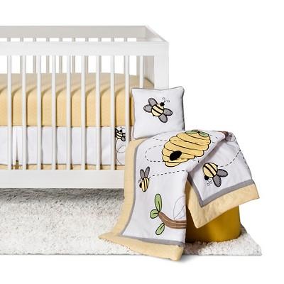 Sweet Jojo Designs Honey Bee 11pc Crib Bedding Set - Yellow