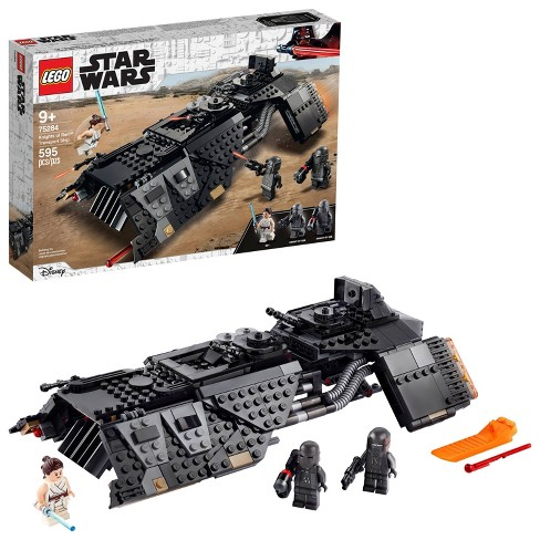 Lego Star Wars The Rise Of Skywalker Knights Of Ren Transport Ship Spacecraft Toy 75284 Target