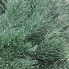 """Northlight 16"""" Unit Frosted Green Pine Artificial Christmas Wreath - image 3 of 3"""