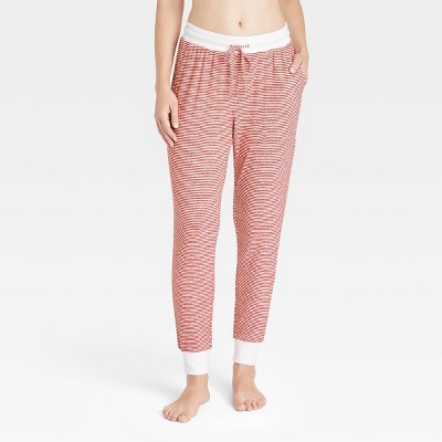 Women's Striped Perfectly Cozy Lounge Jogger Pants - Stars Above™