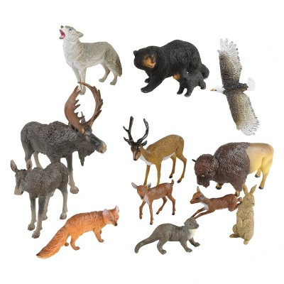 Kaplan Early Learning North American Wildlife - Set of 13