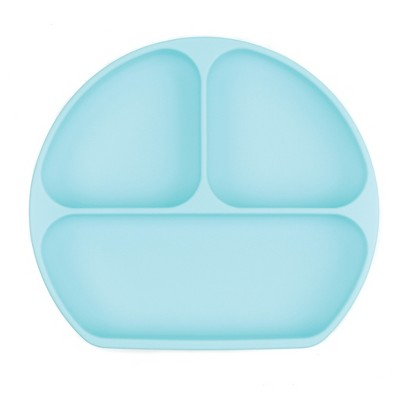 Bumkins Silicone Grip Dish - Blue