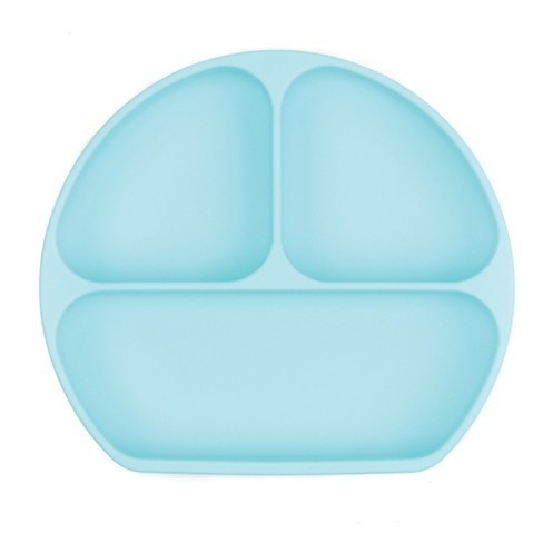 Bumkins Silicone Grip Dish - Blue - image 1 of 4