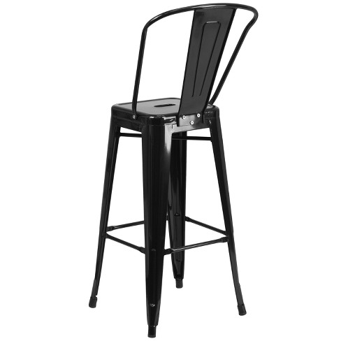 Stupendous 30 Riverstone Furniture Collection Metal Outdoor Stool Black Gamerscity Chair Design For Home Gamerscityorg