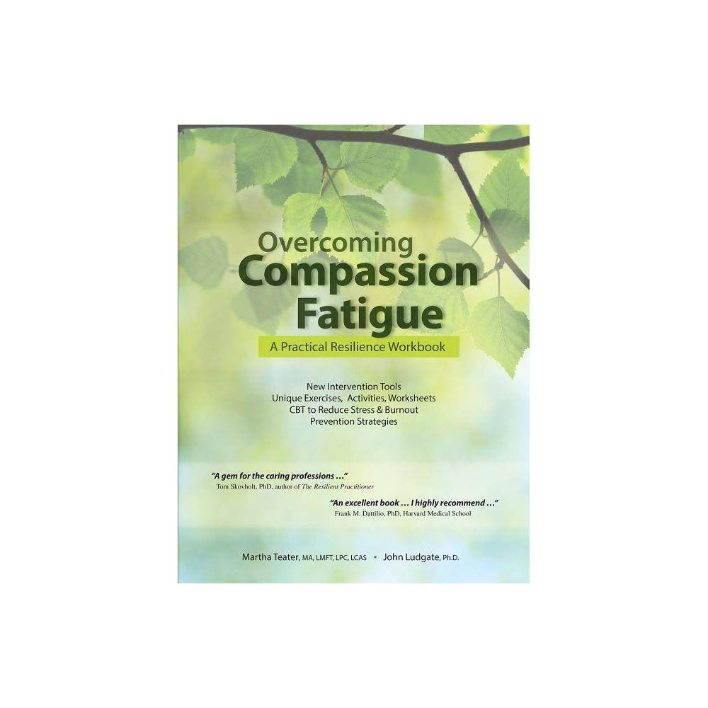 Overcoming Compassion Fatigue - by Martha Teater & John Ludgate (Paperback)