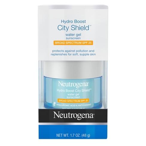 Neutrogena Hydro Boost City Shield Water Gel - SPF 25 - 1.7oz - image 1 of 4