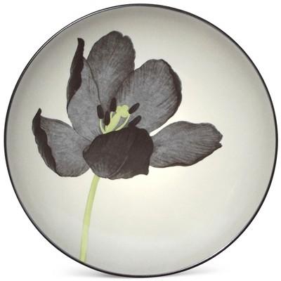 Noritake Colorwave Graphite Tulip Floral Accent Plate