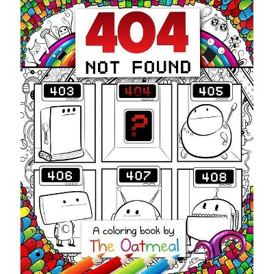 404 Not Found : A Coloring Book (Paperback)