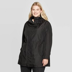 Women's Plus Size Rain Jacket - Ava & Viv™