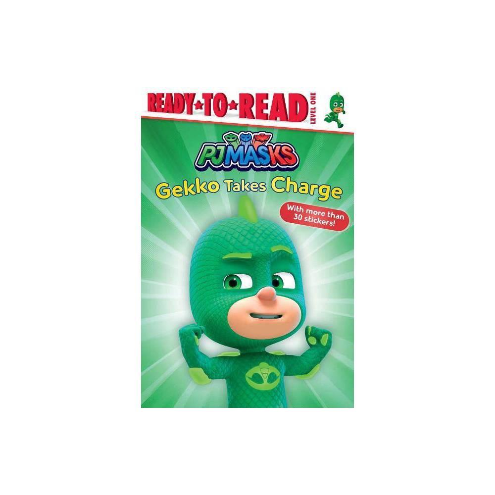 Gekko Takes Charge Pj Masks Paperback