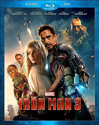 Iron Man 3 (Blu-ray +Digital)