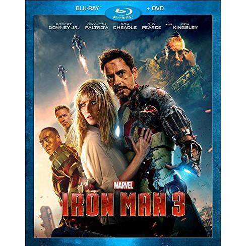 Iron Man 3 (Blu-ray +Digital) - image 1 of 1