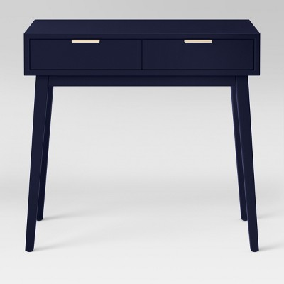 Hafley Two Drawer Console Table Oxford Blue - Project 62™