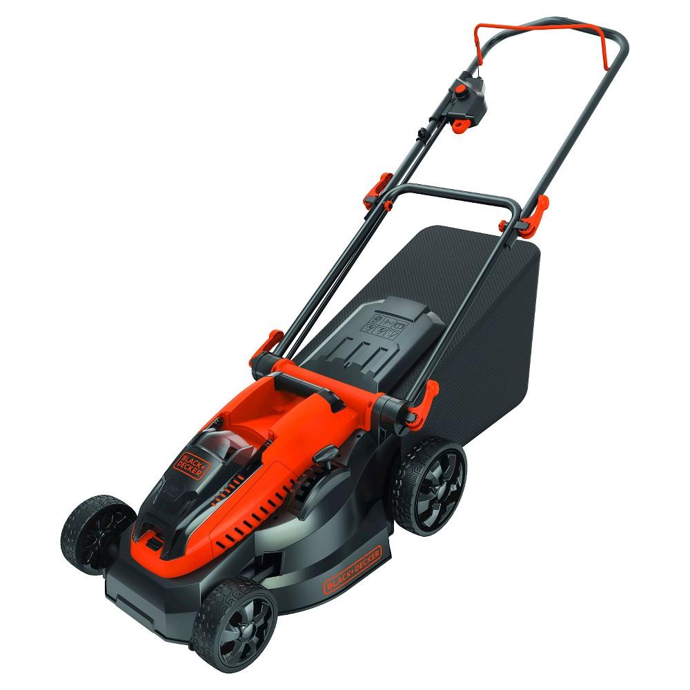Black+decker 40V Max* 16 Lithium Ion Mower, Orange