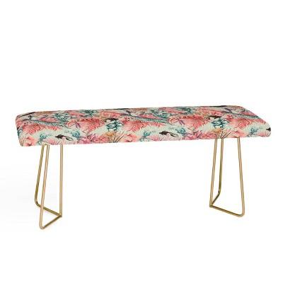 Marta Barragan Camarasa Tropical Paradise Bench - Deny Designs