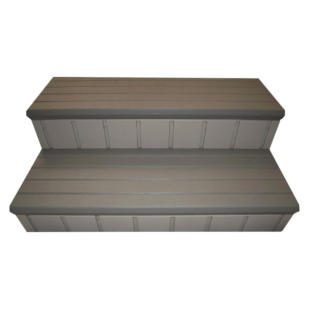 Qca 36 Two Tone Gray Spa Step