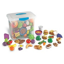Learning Resources New Sprouts Classroom Play Food Set