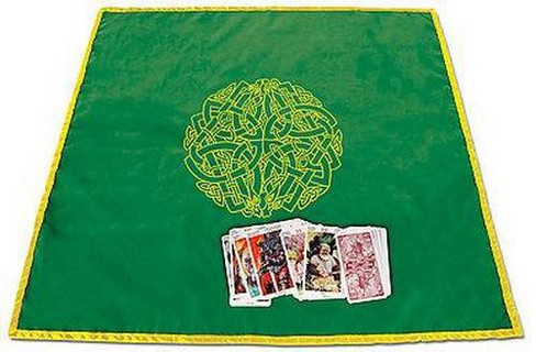 Celtic Labyrinth Velvet Tarot Cloth (Paperback) - image 1 of 1