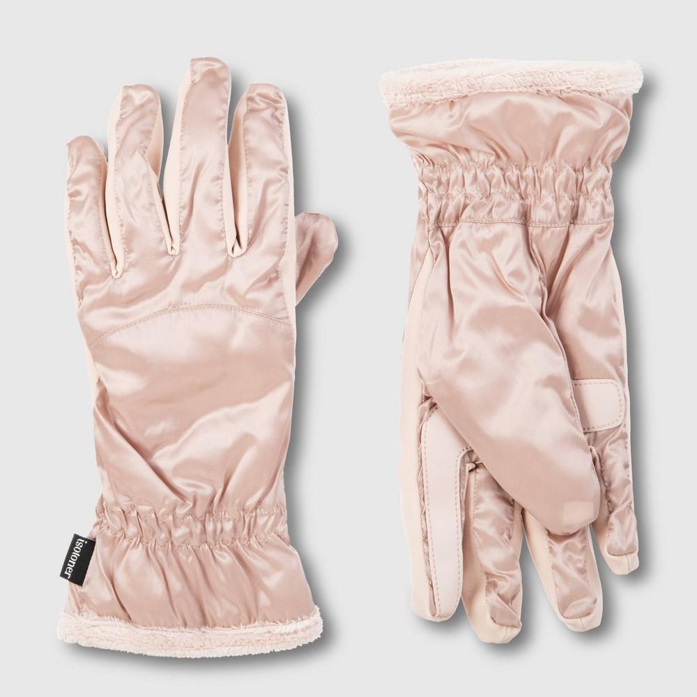 Image of Isotoner Women's Sleek Heat Glove - Blush One Size, Women's