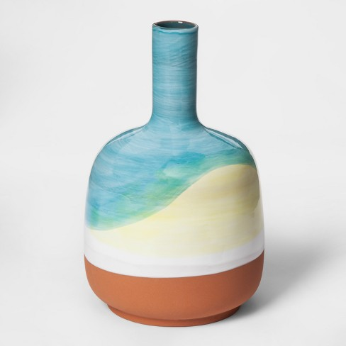 Hand Painted Ceramic Bud Vase - Project 62™ - image 1 of 5
