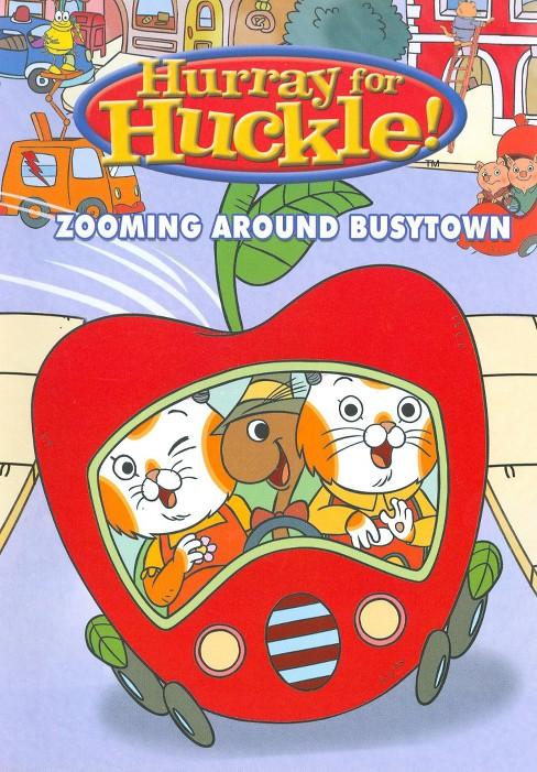 Hurray for Huckle!: Zooming Around Busy Town - image 1 of 1