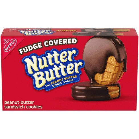 Nutter Butter Fudge Dipped Peanut Butter Cookies - 7.9oz - image 1 of 4