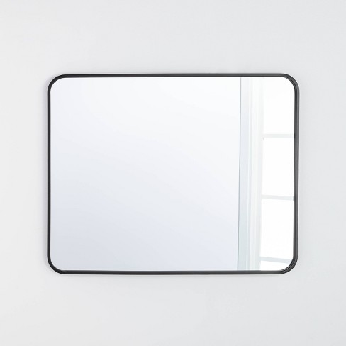 """24"""" x 36"""" Rectangular Decorative Mirror with Rounded Corners - Threshold™ designed with Studio McGee - image 1 of 3"""